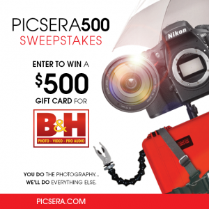 Picsey Announces the Picsera500 Sweepstakes